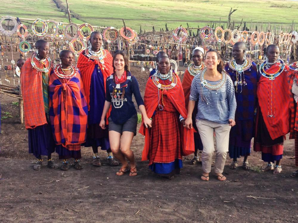 masai dance twins on tour kasia kowalczyk