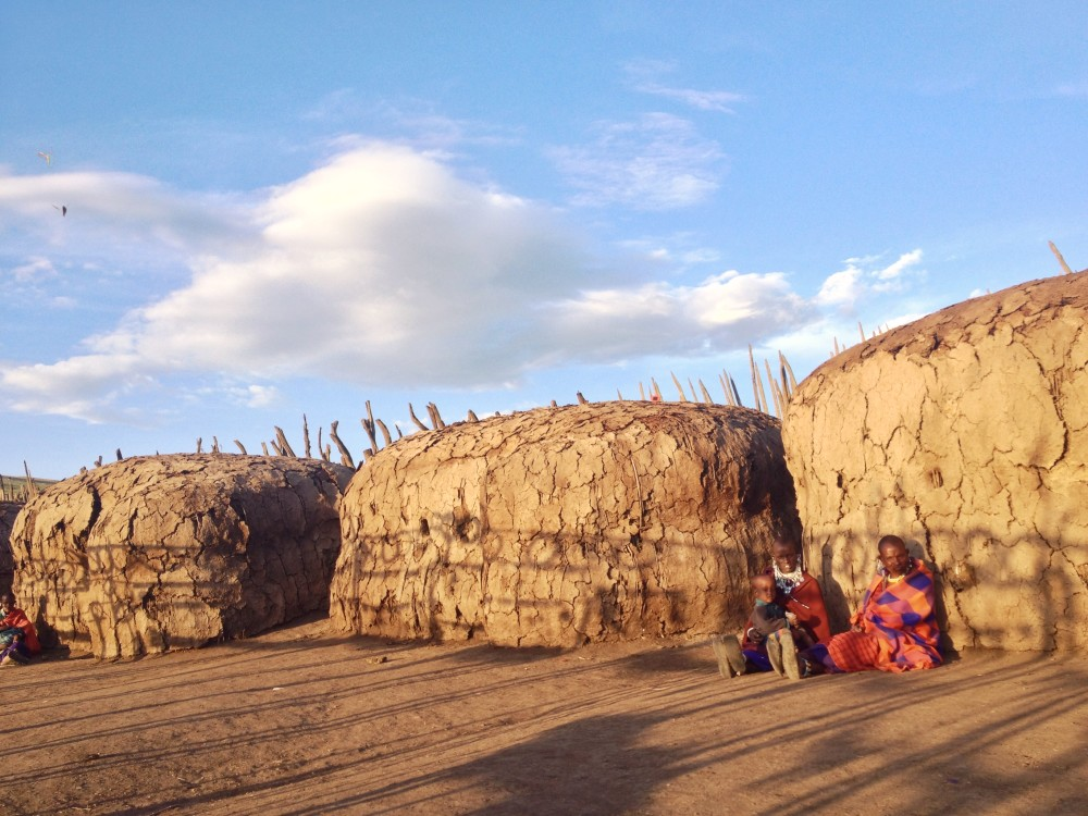 masai tribe village twins on tour