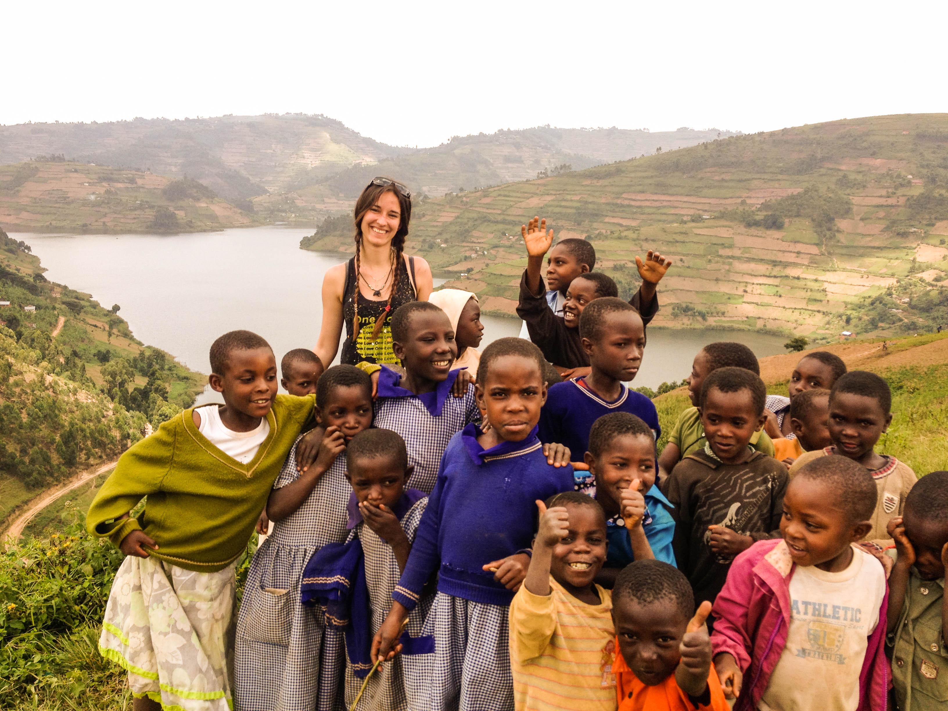 pygmies children kasia kowalczyk z twins on tour