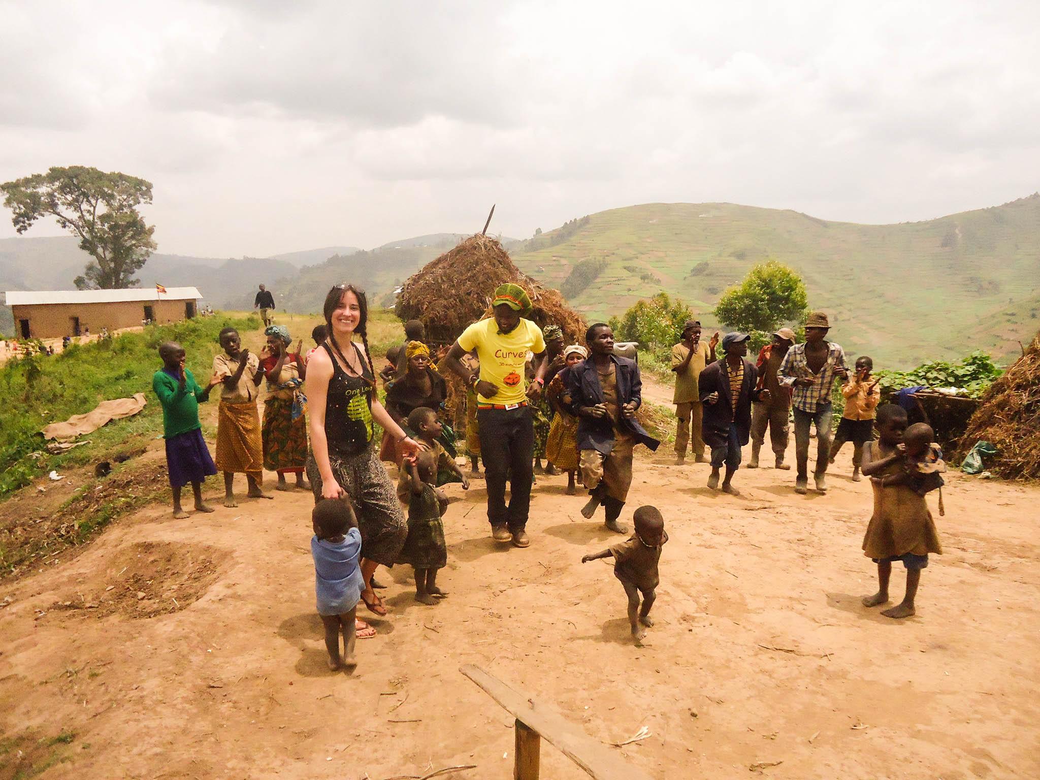 pygmies kasia z twins on tour