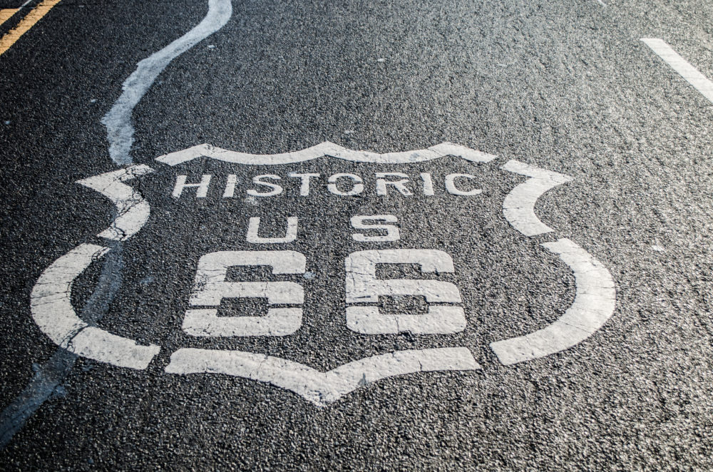 route 66 twins on tour