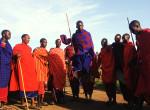 twins on tour masai dance