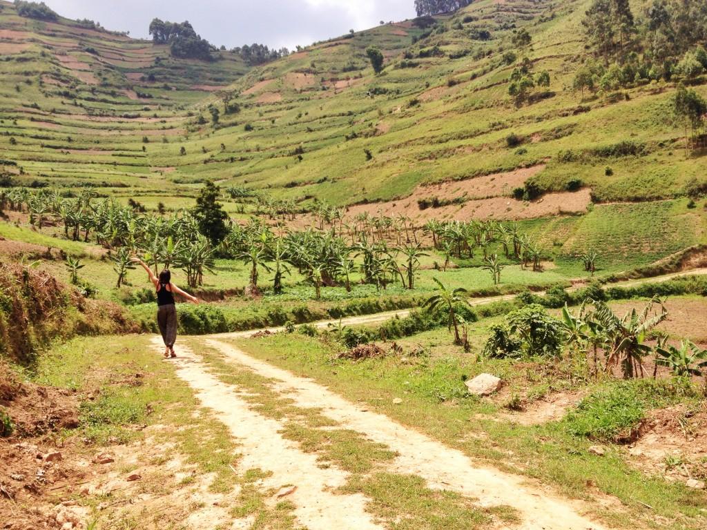 twins on tour uganda bunyonyi kasia kowalczyk