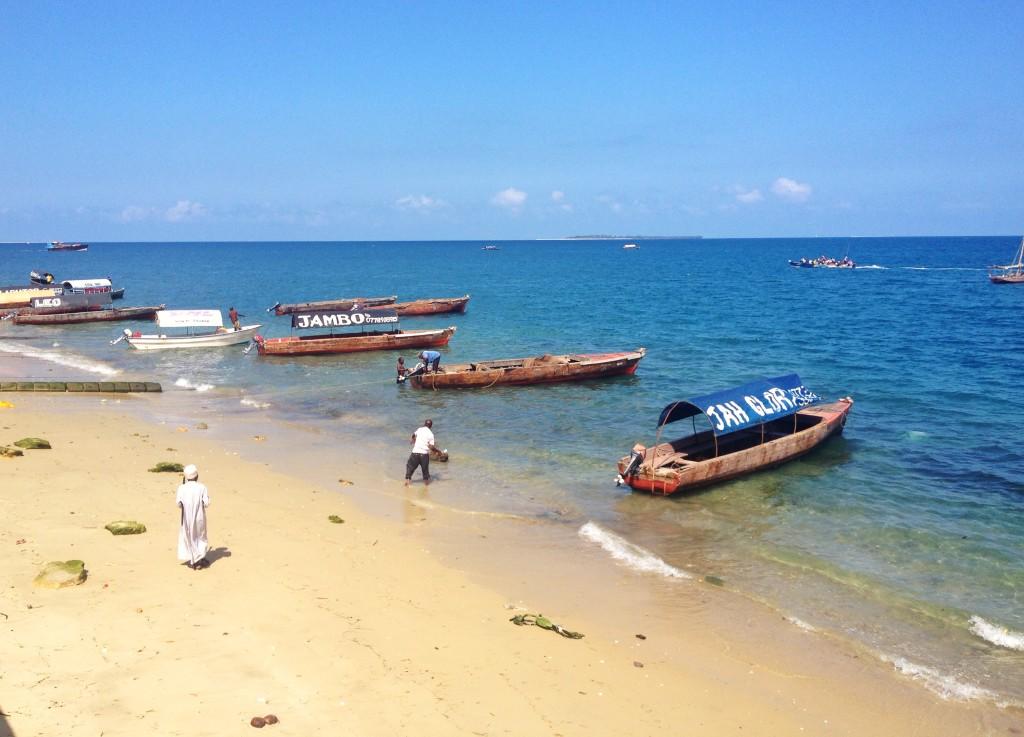 zanzibar tanzania boat twins on tour
