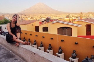 kasia kowalczyk z twins on tour peru arequipa