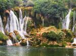 kravica waterfalls twins on tour balcans