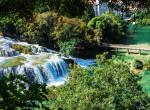 krka national park twins on tour balcanss