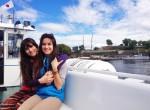 kasia i karolina kowalczyk twins on tour norway oslo ferry