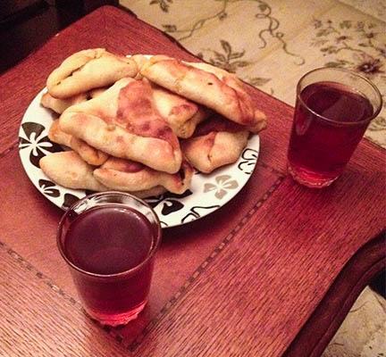 ciastka ze szpinakiem herbata twins on tour jordania-2