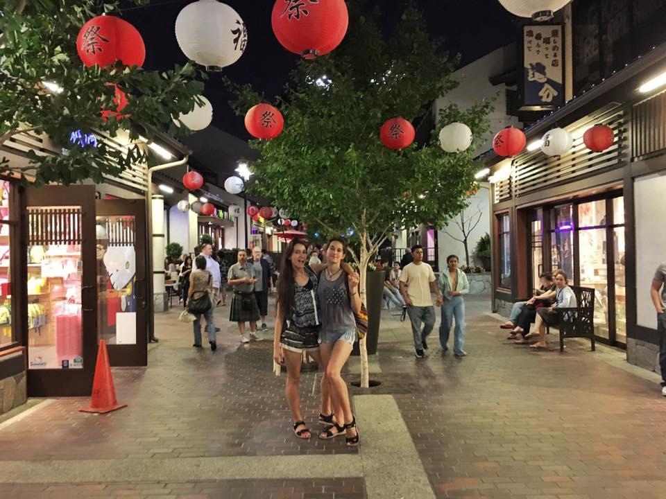 twins on tour los angeles japanian district