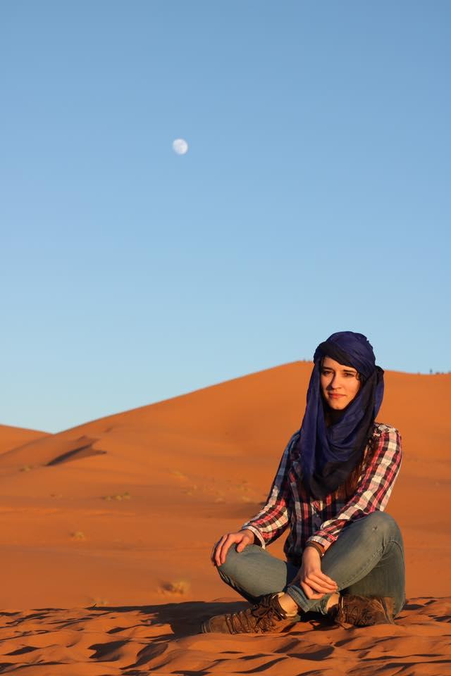 sahara pustynia maroko twins on tour