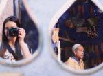 twins on tour marakesh morocco maroko autoportret