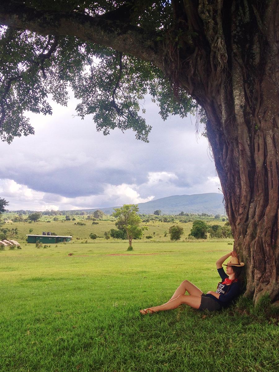 ngorongoro tanzania twins-on-tour afica